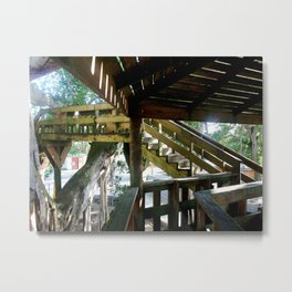 Tree house @ Aguadilla 2 Metal Print