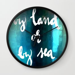 Midnight Message Wall Clock