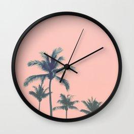 Cotton Candy Summer Wall Clock
