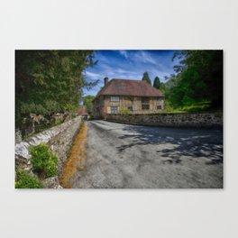 Church House Loose Canvas Print