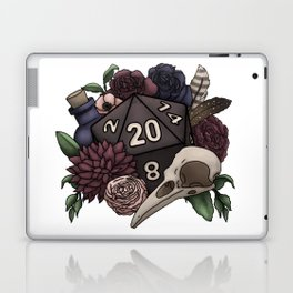 Necromancer D20 Tabletop RPG Gaming Dice Laptop & iPad Skin