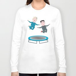 Trump and Kim Jong Un Long Sleeve T-shirt