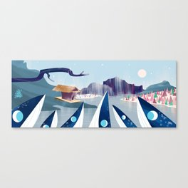 Polar Fish Canvas Print