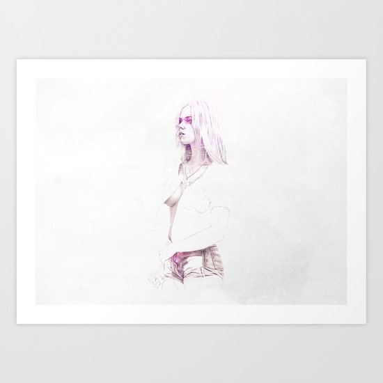 Live Fast, Die Young Art Print
