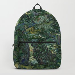 "Vincent Van Gogh ""Trees and undergrowth"" Backpack"