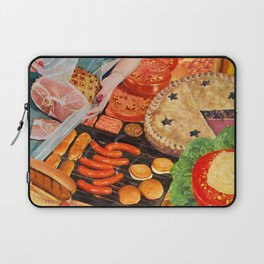 Summer BBQ Laptop Sleeve