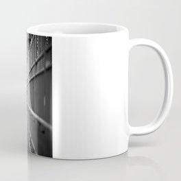 One Way Life , Traveler , Biker , NYC , Williamsburg Bridge  Coffee Mug