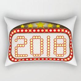 2018 Movie Theatre Marquee Rectangular Pillow