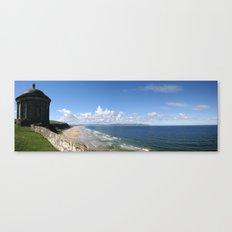 Downhill Beach Canvas Print