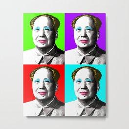 Marilyn Mao Metal Print