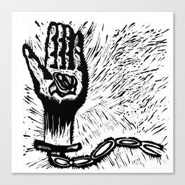 Free Your Chain Canvas Print