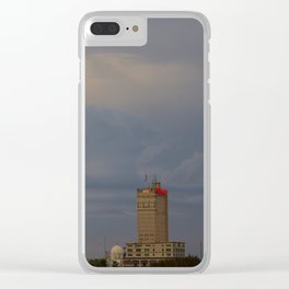Alico Clouds Clear iPhone Case