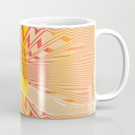 Abstract Center Coffee Mug