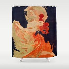 Folies-Bergere, La Loie Fuller - Amazing Vintage Dancer Shower Curtain