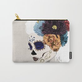 Versailles Skull Carry-All Pouch