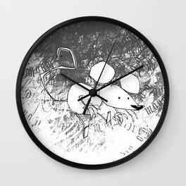 minima - deco mouse Wall Clock