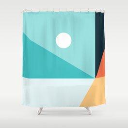 Geometric 1710 Shower Curtain