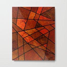 Abstract #985 Metal Print