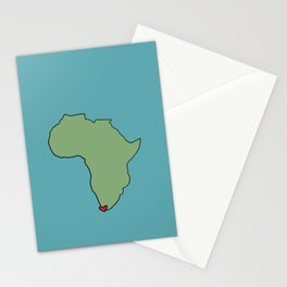Ali Hearts Cape Town Stationery Cards