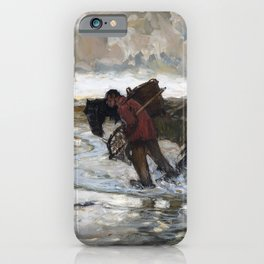 Hans von Bartels - At the Dunes - Digital Remastered Edition iPhone Case