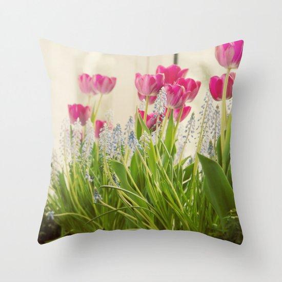 Spring Presentation Throw Pillow