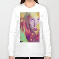 angel Long Sleeve T-shirts featuring Angel by Ganech joe