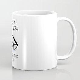 Happiness in Intelligent People Coffee Mug