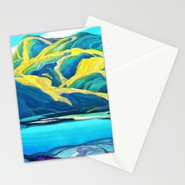 Franklin Carmichael - Lone Lake - Digital Remastered Edition Stationery Cards