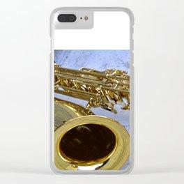 Beautiful Sax , Turin , Italy Clear iPhone Case