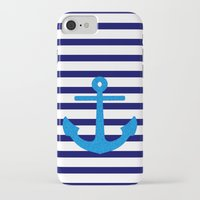 sail iPhone & iPod Cases featuring Sail by M Studio