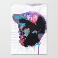 j dilla Canvas Prints featuring J Dilla - Mystique in Music by Ronny Hash