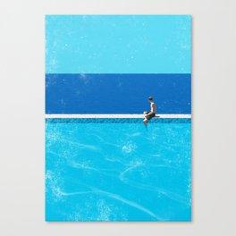 Pool 6 Canvas Print