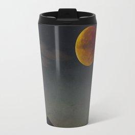 Blood Moon Rising Travel Mug