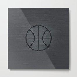 BASKETBALL- basketball Metal Print