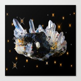 Star Aura Quartz Canvas Print