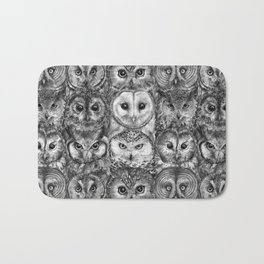Owl Optics BW Bath Mat