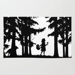 Little Red Riding Hood Rug
