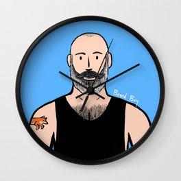 Beard Boy: Philippe Wall Clock