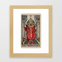 05 - The Hierophant Framed Art Print