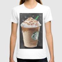 starbucks T-shirts featuring Starbucks by Amit Naftali