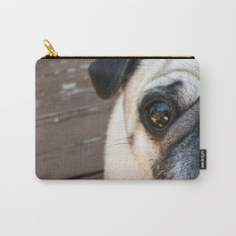Just a Pug Carry-All Pouch