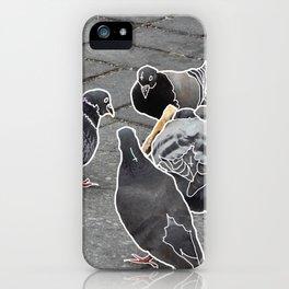 The 4 Horsemen of NYC iPhone Case