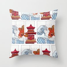 Japan Throw Pillow