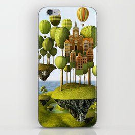 City in the Sky iPhone Skin