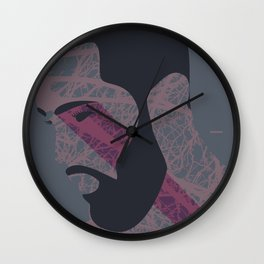 Pose Babe Wall Clock