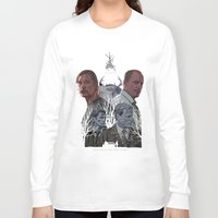 true detective Long Sleeve T-shirts featuring True Detective by TidyDesigns