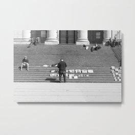 Steps at VAG Metal Print