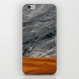 Marble and Wood 3 iPhone Skin