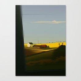 Trainblur2 Canvas Print
