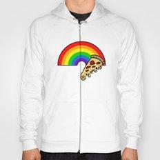 pizza rainbow Hoody